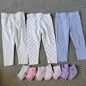 Baby girl pants size 12 months